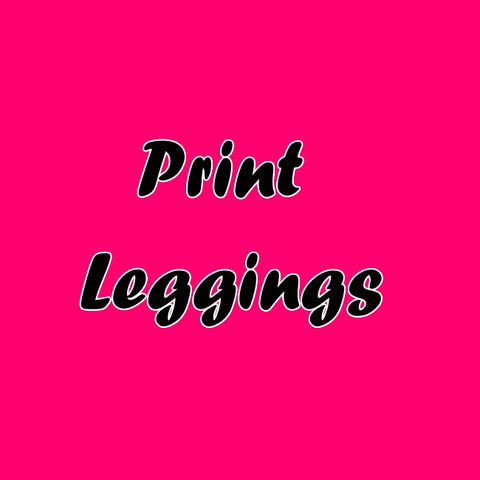 Leggings -  Print