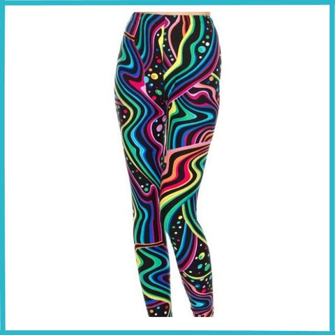 BUTTER SOFT LAVA LIGHT PRINT HIGH WAIST LEGGINGS