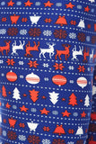 Christmas Theme Print Yummy Brushed Ankle Leggings Plus (P) Size