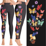 SPECIAL CUSTOM ONE LEG PRINT YOGA BAND LEGGINGS