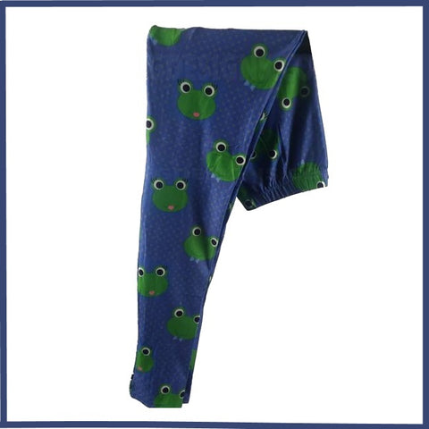 LILLY PAD LOVE CUSTOM FROG THEME DESIGN LEGGINGS