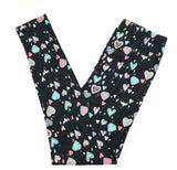 MINI PASTEL LOVE HEARTS LEGGINGS ONE SIZE