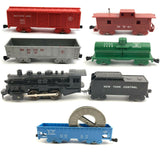 1960's MARX 027 ELECTRIC TRAIN SET COMPLETE TESTED & SERVICED LOCO + Extras