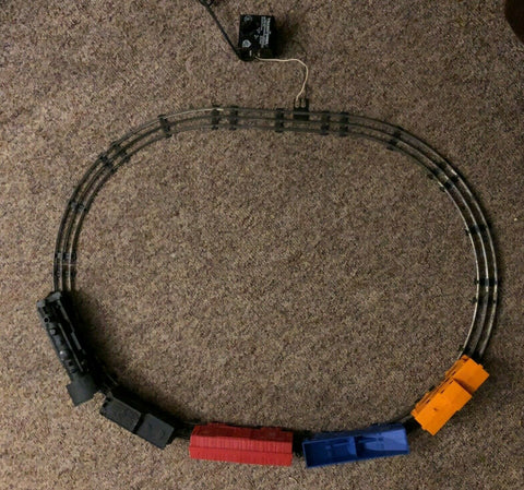 1960's MARX ELECTRIC TRAIN SET #4970 COMPLETE TESTED & SERVICED LOCO 027 SCALE