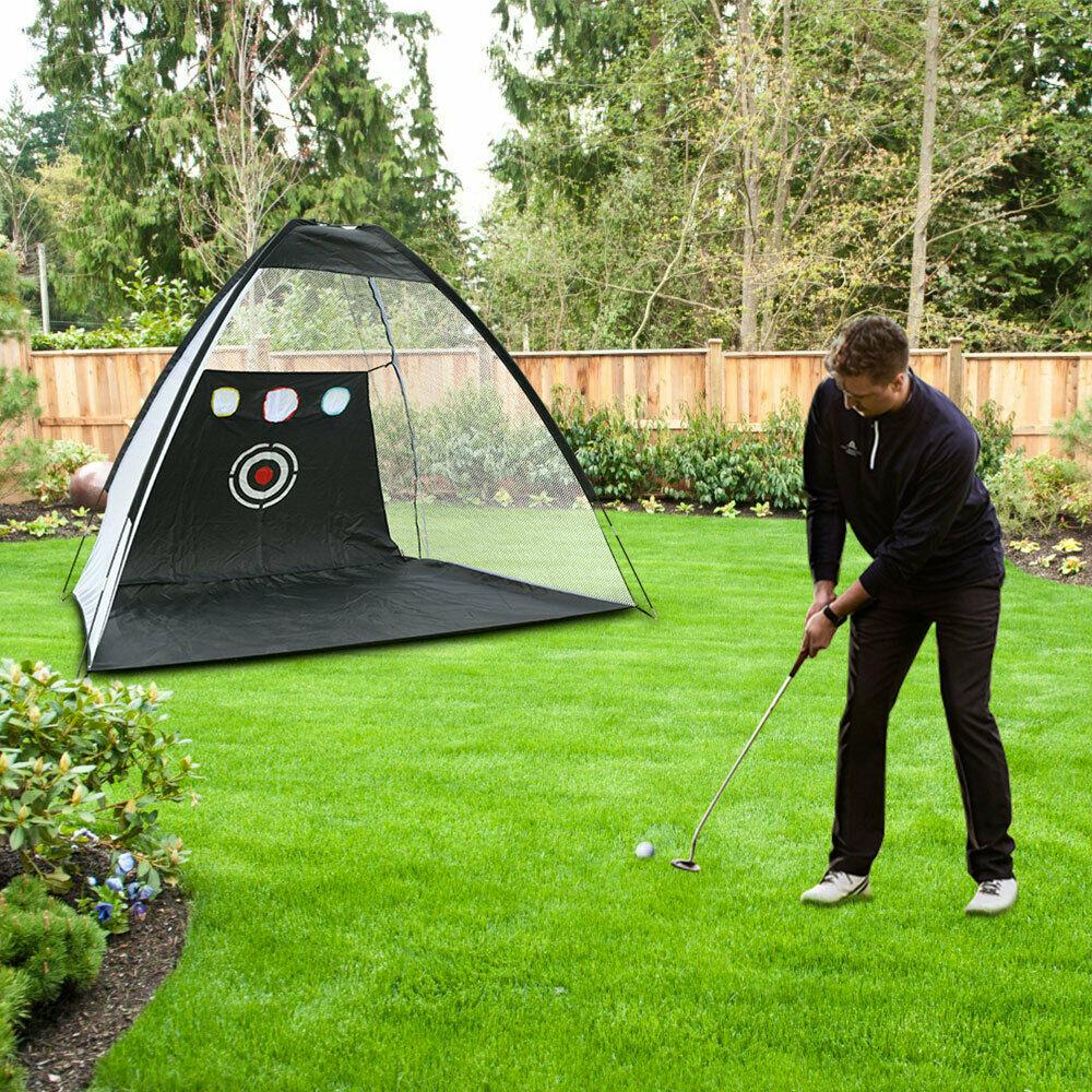 How to Setup the Golf Practice Net
