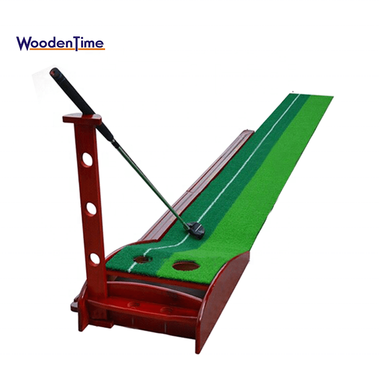 Wooden Indoor Putting Green - Social Distancing Product of the Year