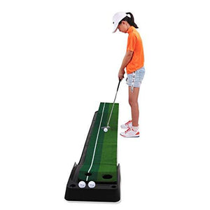 Indoor Golf Putting Green - Includes Golf Line Marker & Golf Balls - The Golfing Eagles