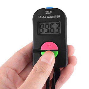 Digital Hand Tally Golf Counter - Golf Score Counter Pack of 2