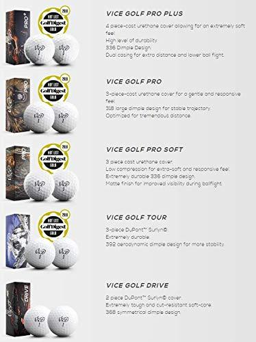 Vice Golf Ball Select Variety Pack - Golf Sampler Pack - The Golfing Eagles