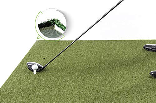 Bigger 3'X5' Backyard Golf Mat with Foam Pad - 36x60 inch with Rubber Tee