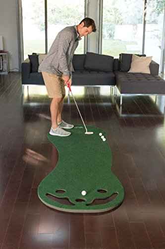 Smaller Basic Indoor Golf Putting Green, 3 x 9 feet