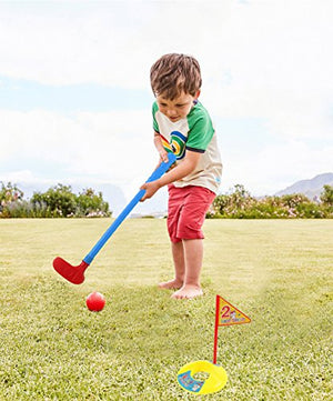 Plastic Golf Clubs - Golf Toys Sets for Toddlers Kids