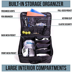 Golf Trunk Organizer - Car Golf Locker to Store Golf Accessories