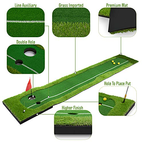 Home Indoor Putting Greens - 10 Foot Putting Greens for Basement