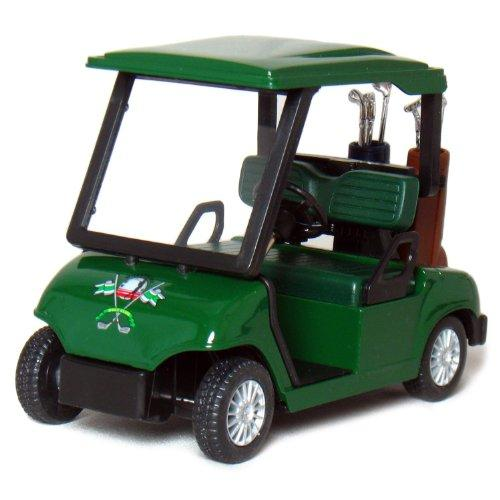 Die-cast Metal Golf Cart Model - Golf Cart Toys - The Golfing Eagles