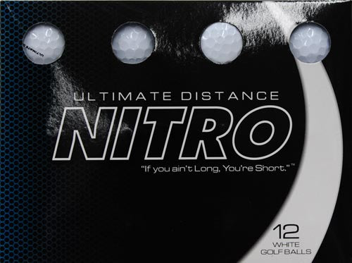 Ultimate Distance Golf Balls - Multiple Colors 12 Pack