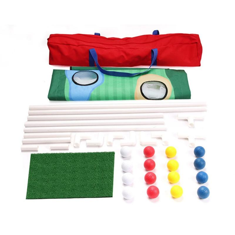 Golf Cornhole Game - Backyard Golf Cornhole Chipping