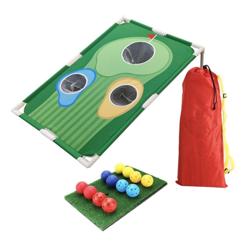 Golf Cornhole Game - Backyard Golf Cornhole Chipping - The Golfing Eagles