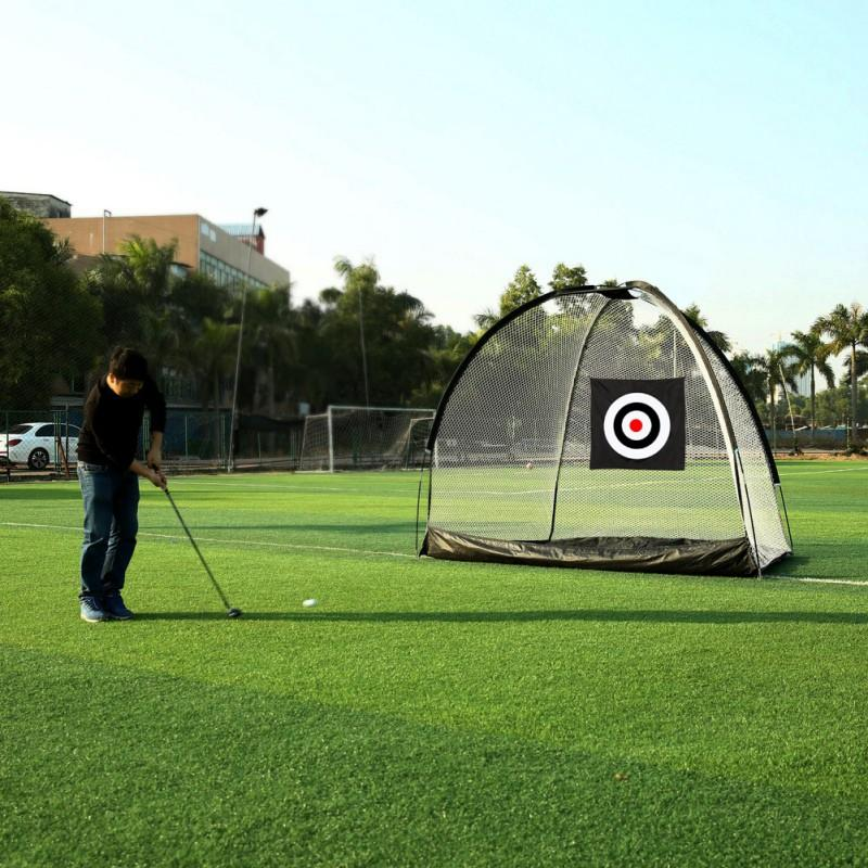 Large Heavy Duty Golf Practice Hitting Net - The Golfing Eagles