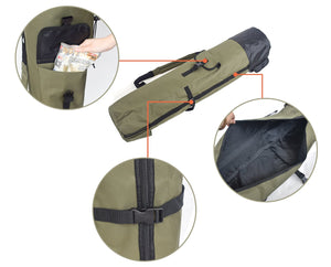 2020 Waterproof Fishing Rod & Tackle Storage Bag - The Golfing Eagles