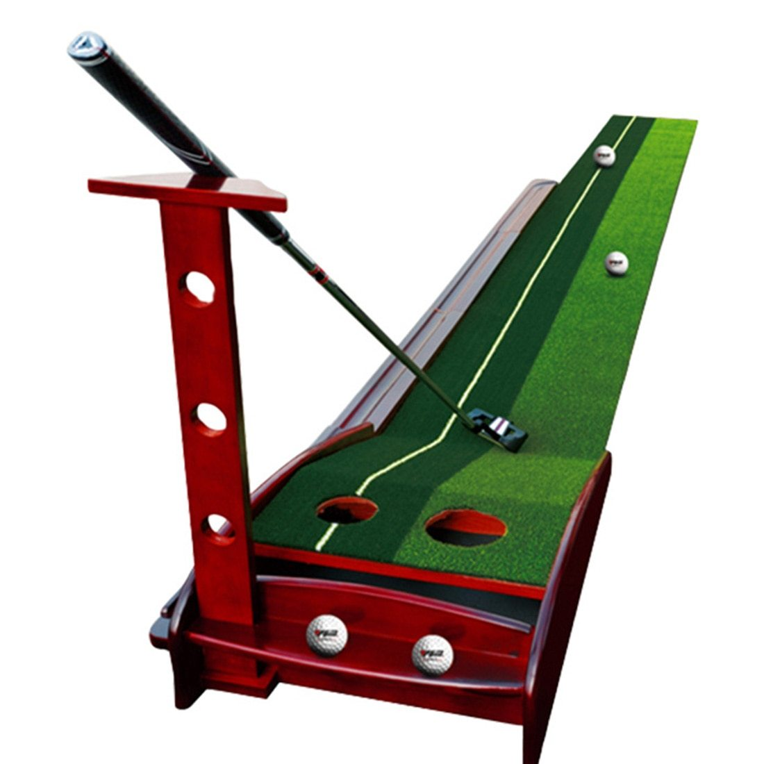 Wooden Indoor Putting Green - Golf Putting Practice - The Golfing Eagles