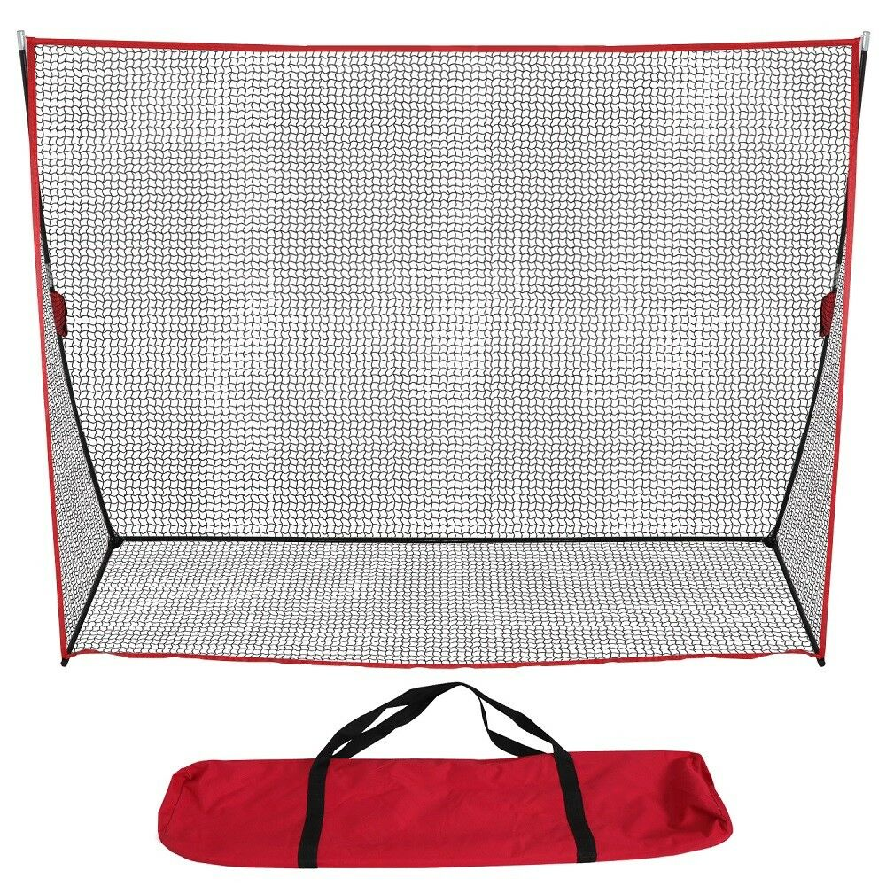 Portable Golf Net 10 X 7 Practice Golf Large Hitting Net (10 Feet Nets) - The Golfing Eagles