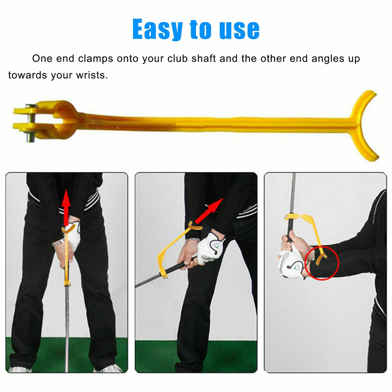 Golf Swing Swinging Tool - Golf Alignment Training Aid - The Golfing Eagles