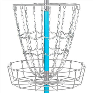 Disc Golf Basket Game - High-Quality Metal Frame & Galvanized Chains - The Golfing Eagles