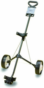Deluxe Steel Push Golf Cart - Lightweight & Sturdy Pull Cart