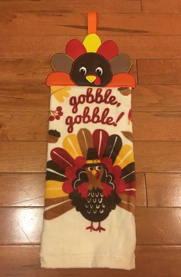 Turkey Embroidered Top hand towel