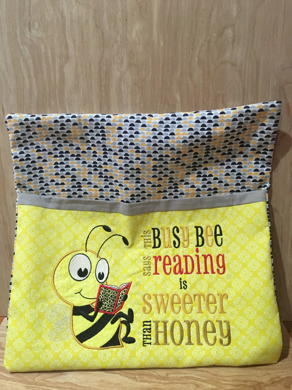Bee Pocket Pillow