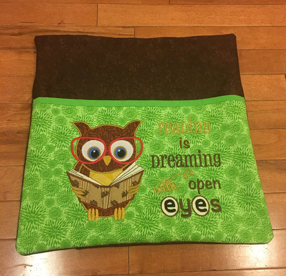 Owl (Boy) Pocket Pillow