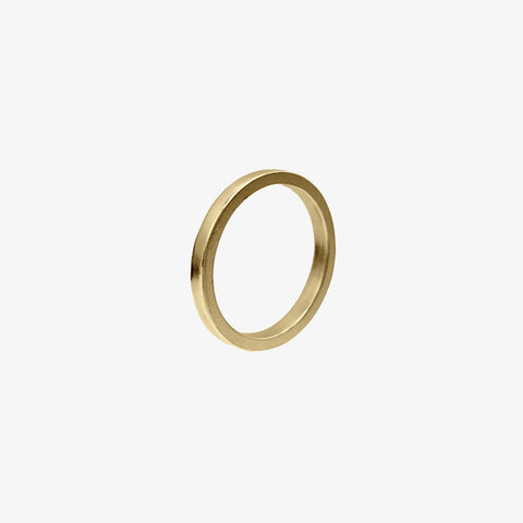 14k Gold Vermeil / 5 Band Ring crafted by women transitioning out of homelessness using 100% recycled metals