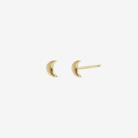 14k Gold Vermeil Tranquility Studs Earring crafted by women transitioning out of homelessness using 100% recycled metals