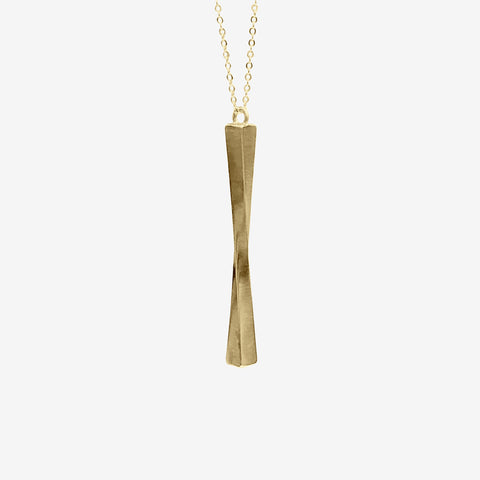 14k Gold Vermeil Resilience Necklace Necklace crafted by women transitioning out of homelessness using 100% recycled metals