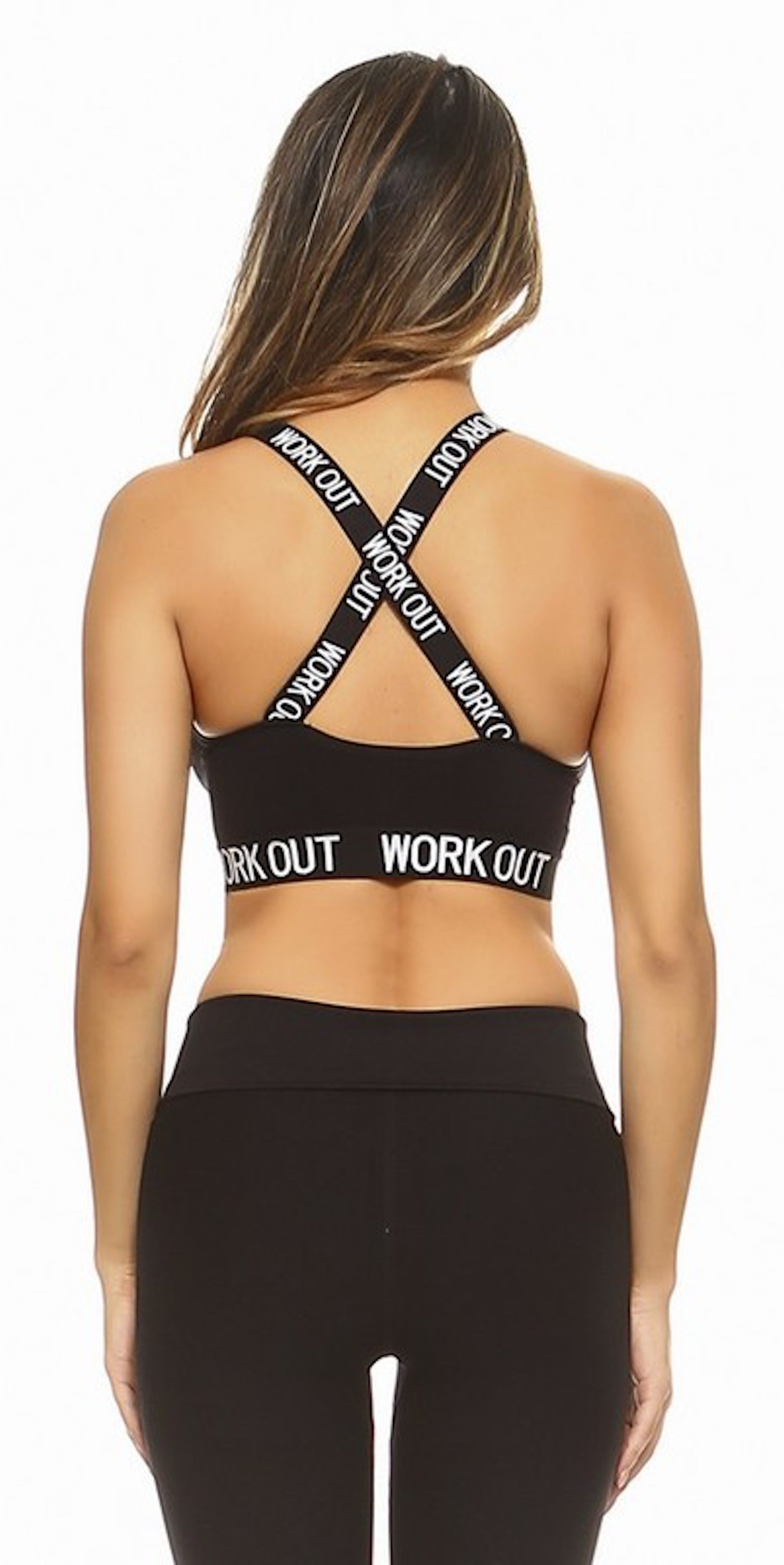 Work Out Athletic Sports Bra