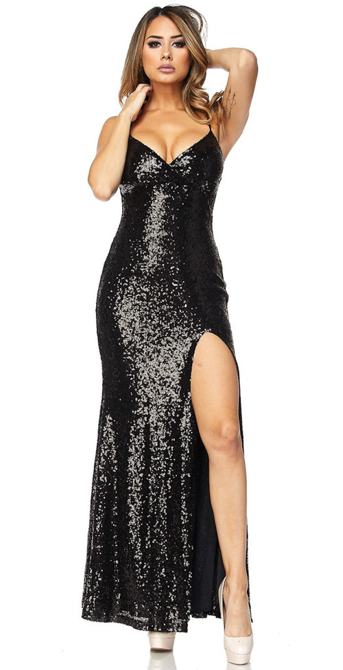 Elegant Sequin Dress