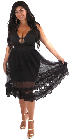 Ruffle Bottom Dress