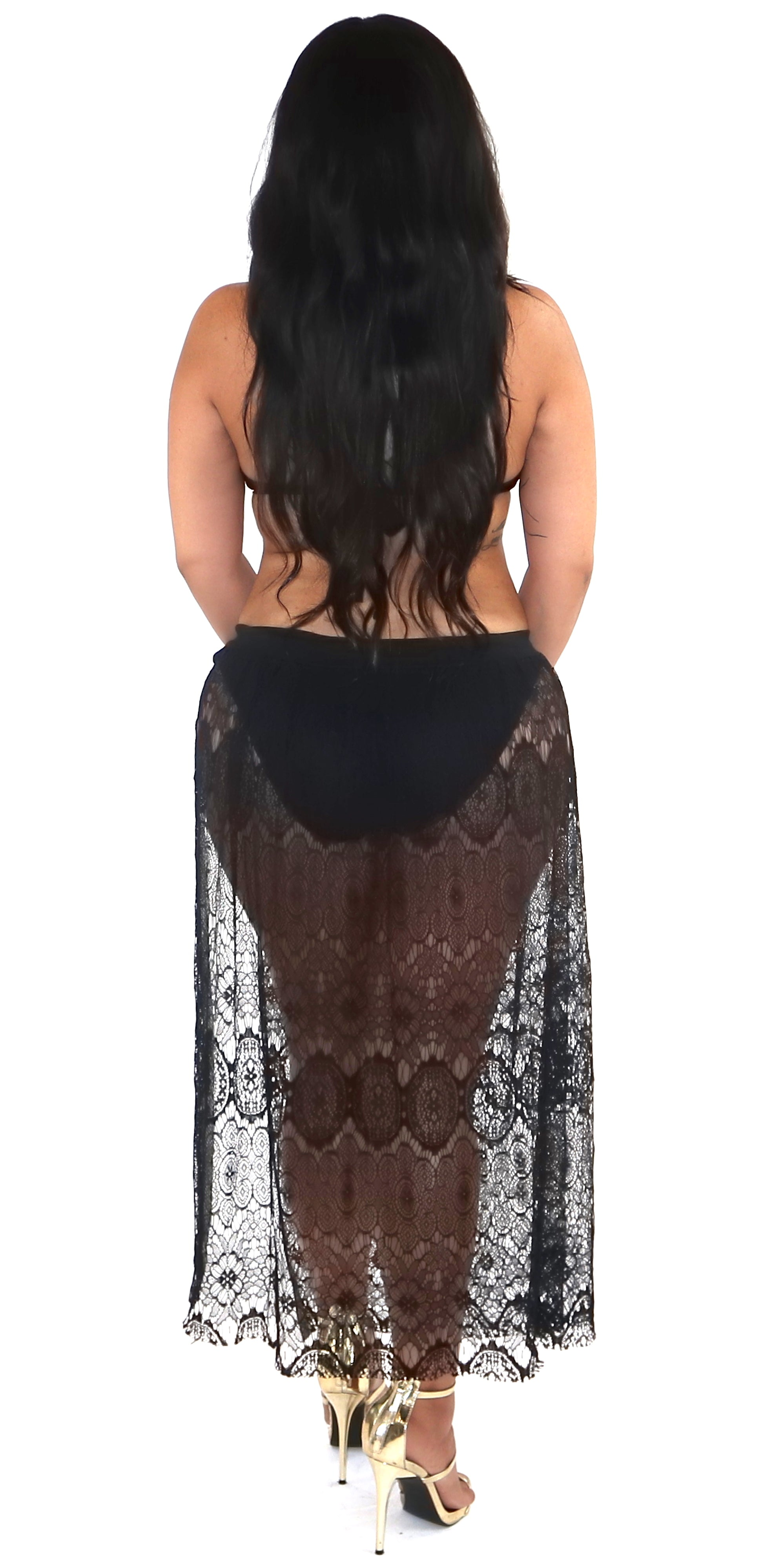 Swimwear Lace Cover Up