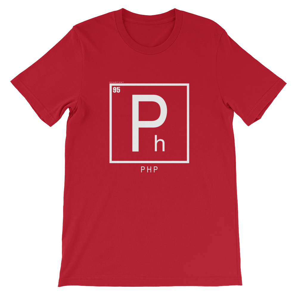 ELEMENT:  PHP Short-Sleeve Unisex T-Shirt