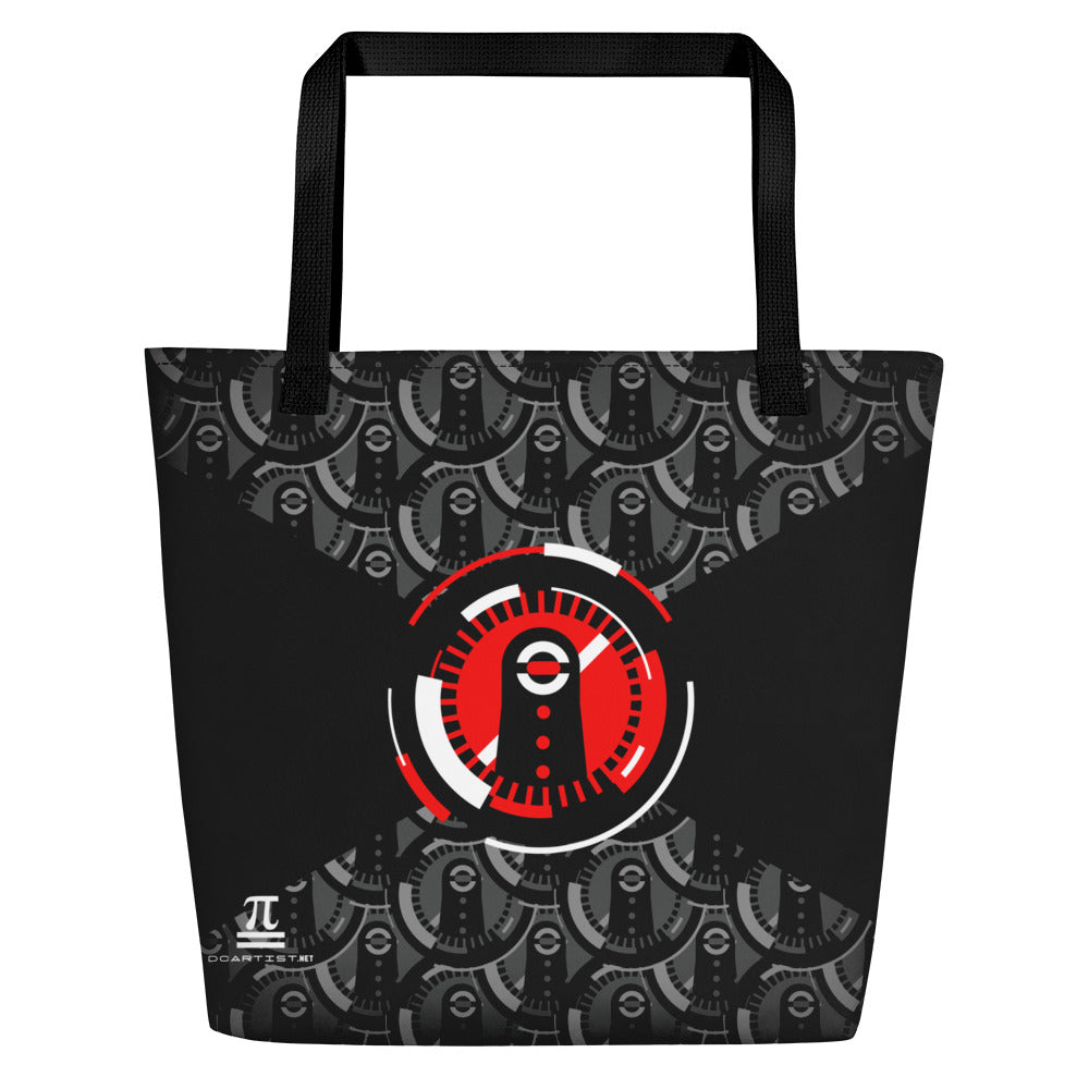 Alien Large Tote Bag