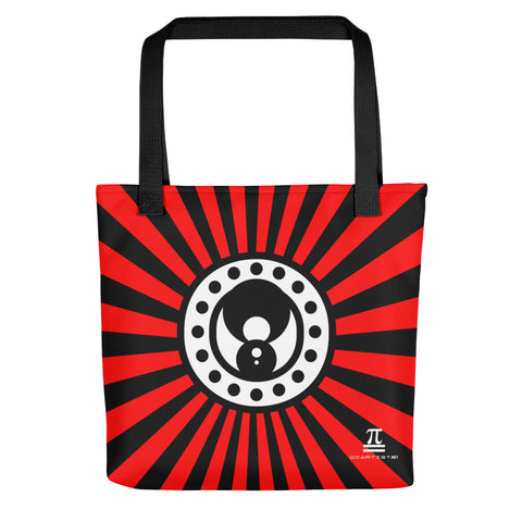 AfroMan Red Background Tote bag