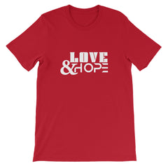 Love & Hope Short-Sleeve Unisex T-Shirt