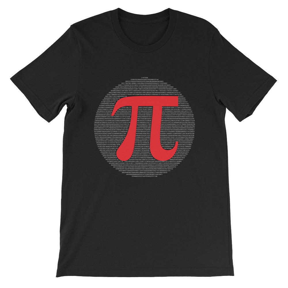 Pi Short-Sleeve Unisex T-Shirt