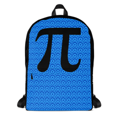 Large Black Pi Backpack