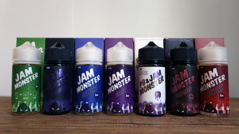 Jam Monster | Ice Monster | Fruit Monster | Tobacco Monster |