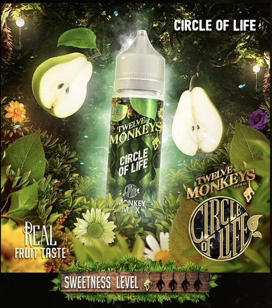 12 Monkeys Vapor Co. Circle of Life