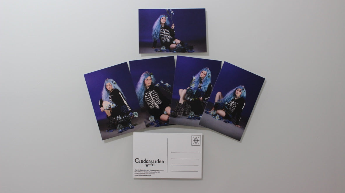 Cindergarden Limited Edition Promo Postcard Set