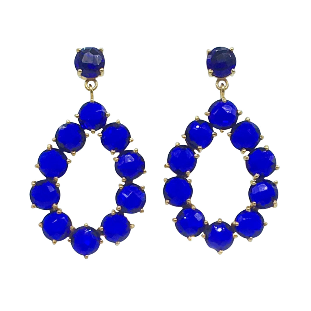 Aphrodite Earring - Sapphire Hydro