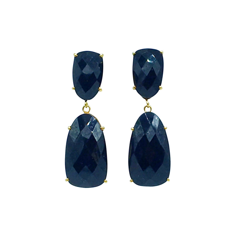 Elsa Earring - Black Onyx